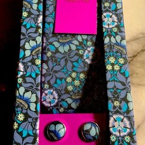 Gianni Feraud Liberty Tie & Cufflinks Gift Set NWT
